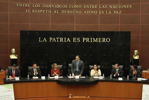 El día 12 de julio se llevó acabo en el Senado de la República el Foro internacional: Diálogo parlamentario sobre el papel de los gobiernos subnacionales como actores internacionales.