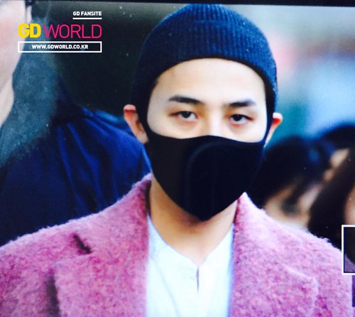 Big Bang - Incheon Airport - 22mar2015 - G-Dragon - GD World - 01