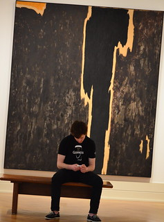 Guinness in Front of Art