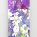 VIOLETS FLOWERS ON A DREAM PHONE CASE