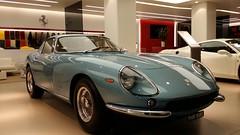 race car(0.0), tvr(0.0), convertible(0.0), automobile(1.0), vehicle(1.0), automotive design(1.0), ferrari 275(1.0), antique car(1.0), land vehicle(1.0), supercar(1.0), sports car(1.0),