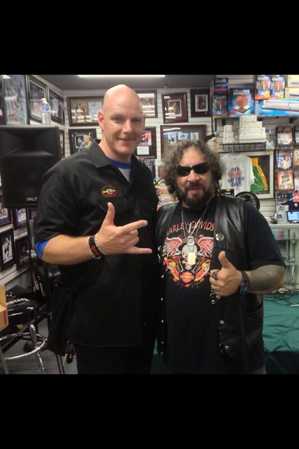 Officer Metalhead and A.J. Pero (Summer 2014)