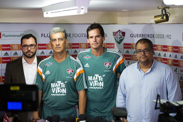 Inspirado por Telê Santana, mineiro Ricardo Drubscky é apresentado no Fluminense
