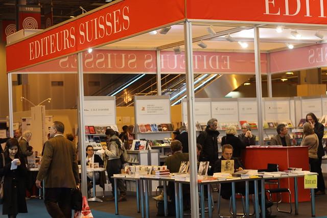 Éditeurs suisses - Salon du livre de Paris 2015