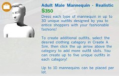 Adult Male Mannequin Realistic
