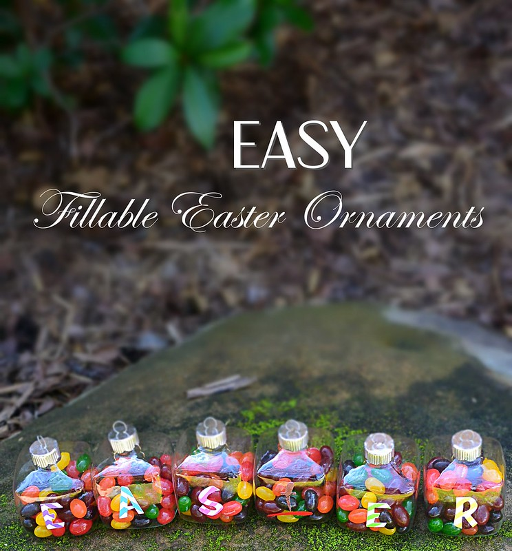 easy fillable easter ornaments