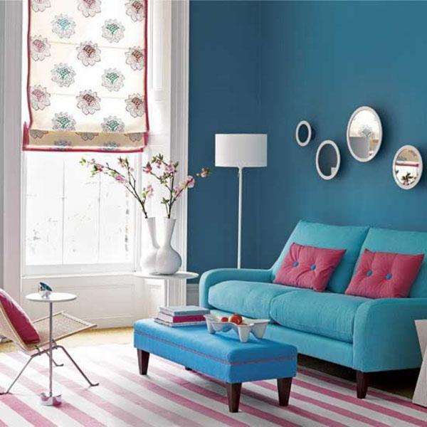 20 gam màu xanh tươi mát phù hợp thiết kế nội thất phòng khách-Phần 2