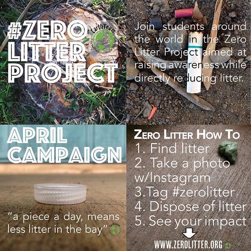 April Zero Litter Campaign