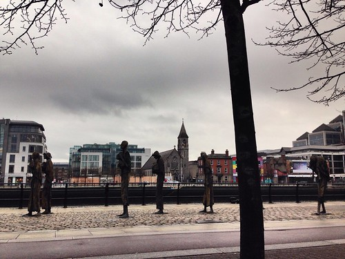 Irish Famine Statues #Ireland