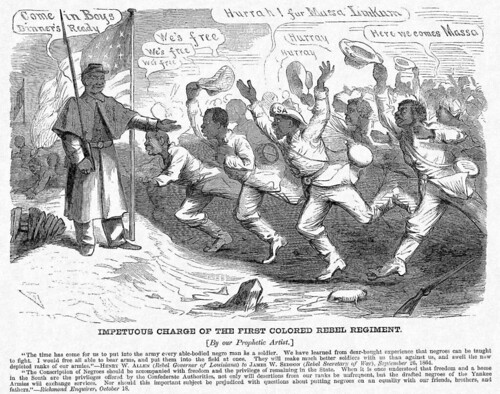 "First charge of ""Black Confederates"""