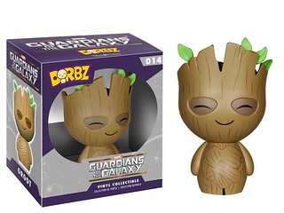 FUNKO DORBZ 系列【星際異攻隊】Guardians of the Galaxy 3 吋 超可愛不倒翁?!