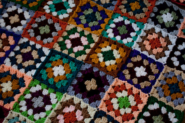 Old-Fashioned Granny Squares