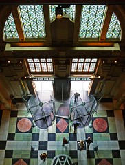Inside the Victoria and Albert (V&A) Museum