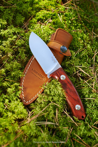 LionSteel M2 CB hunting fixed knife, Italy.