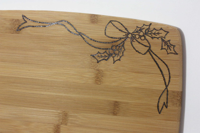 Woodburned Cutting Board