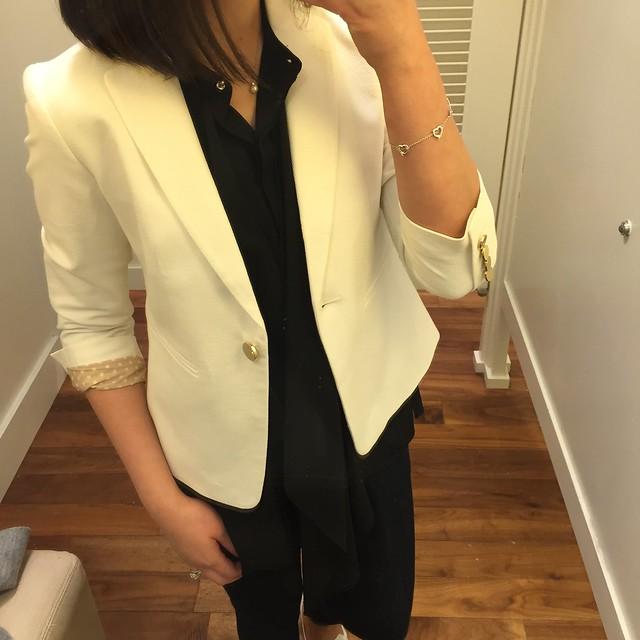 Ann Taylor Textured Jacket, size 00P