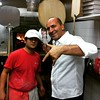 Coming back home you have to drop in see Dino he's made pizza for #Prince #Madonna #Davidbowiefilm #pizza #fresh #oven #restaurant #DinoPizza #toronto #ontario #Canada #vegetables #yummy #Farm #knives