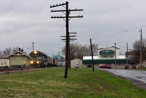 railroad train trainstation depot traindepot nashvilleillinois evwr evansvillewestern evansvillewesternrailway nashvilleil evwrmcl1