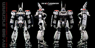 【玩具人秋山投稿】Hunter R重塗Bandai 《THE NEXT GENERATION PATLABOR》