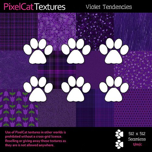 PixelCat Textures - Violet Tendencies