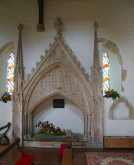 14th Century tomb canopy