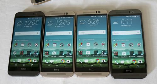 HTC One M9 Android telefono pristatymas Lietuvoje