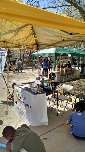 Catylator Makerspace at the Greenbelt Mini-Maker Faire