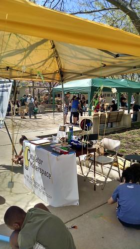 Catylator Makerspace at the Greenbelt Mini-Maker Faire
