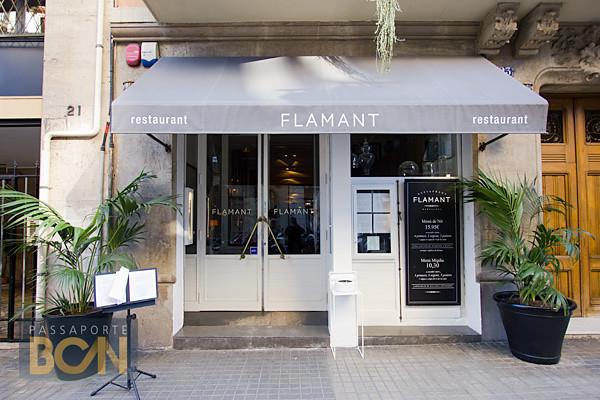 restaurante Flamant, Barcelona