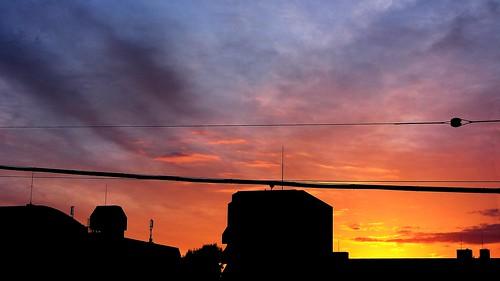 geotagged dawn tokyo newhome 東京 chitosedai 夜明け 世田谷区 setagayaku 千歳台四丁目 geo:lat=35657599601542984 geo:lon=1396150656240967