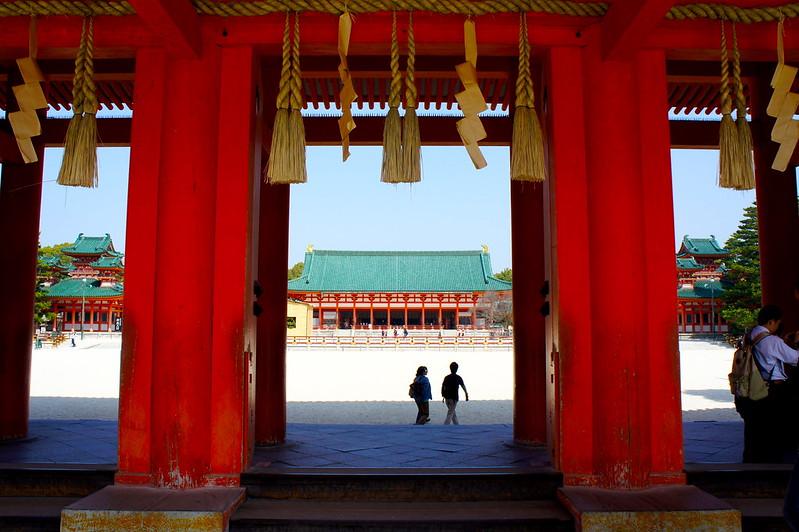 應天門から見る大極殿/平安神宮(Heian-jingu Shrine / Kyoto City) 2015/03/17