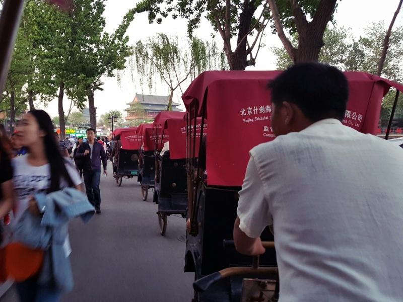 Rickshaw Ride Beijing