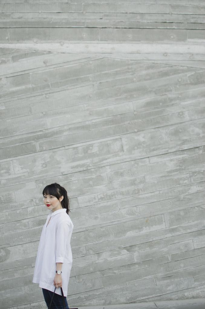 white shirt classic style