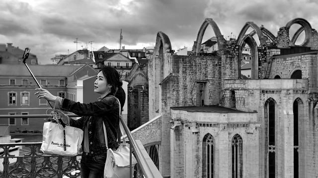 Selfie in Lisbon