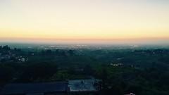 #marino view of #rome at #sunset