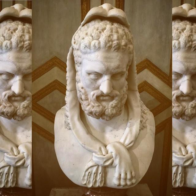 Hercules in a fashionable lion pelt