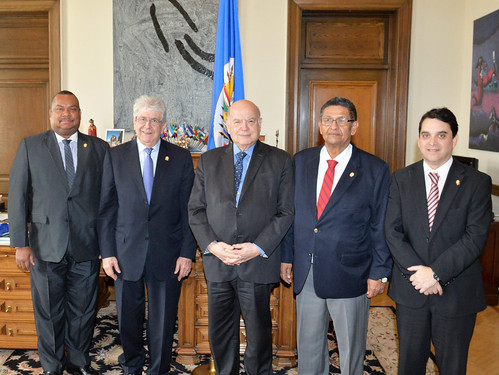 OAS Secretary General Received the Leadership of the Central American Parliament