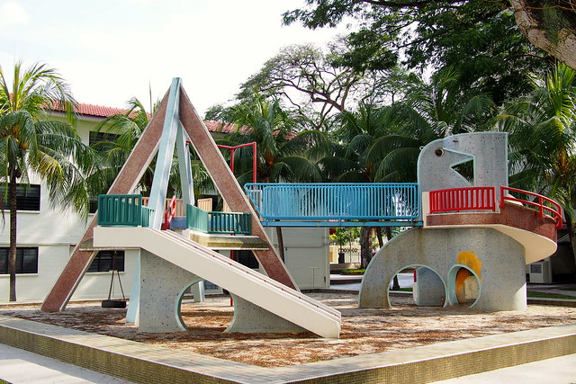 Dove Playground, Singapore Improvement Trust (SIT) flats, Dakota Crescent, Singapore