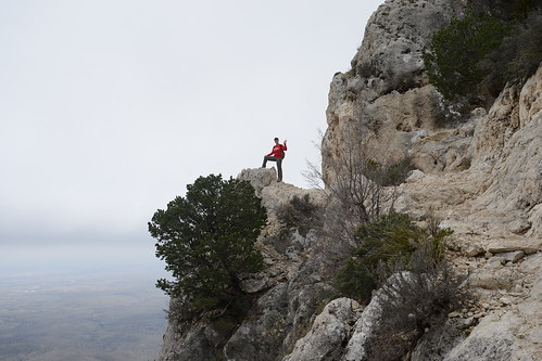 Nearing the top of Guadalupe Mountain