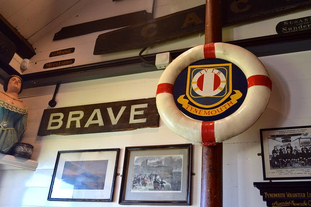 Tynemouth Volunteer Life Brigade Hall Displays
