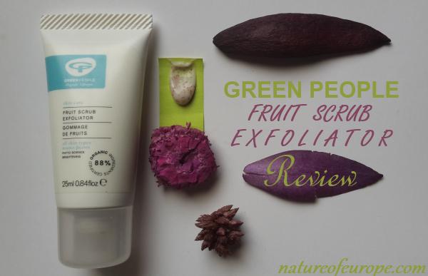 Green People Fruit Scrub Exfoliator Review