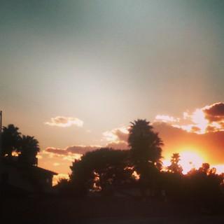 I finally got me a Las Vegas sunset
