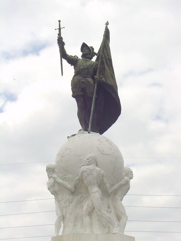 Monument of Vasco Núñez de Balboa in Panama City