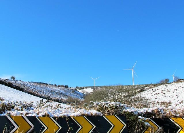 Turbines on the Cork tundra
