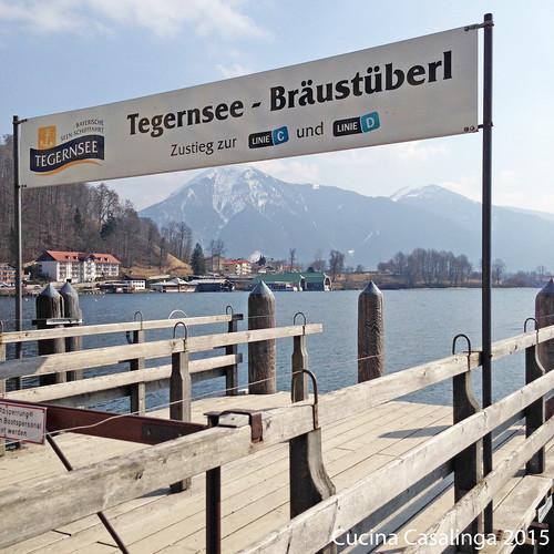 Braeustueberl Schiffsanleger Tegernsee