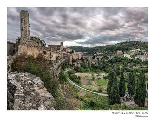 travel viaje panorama france nikon village pueblo panoramic viajes francia languedoc minerve hérault 2015 d610