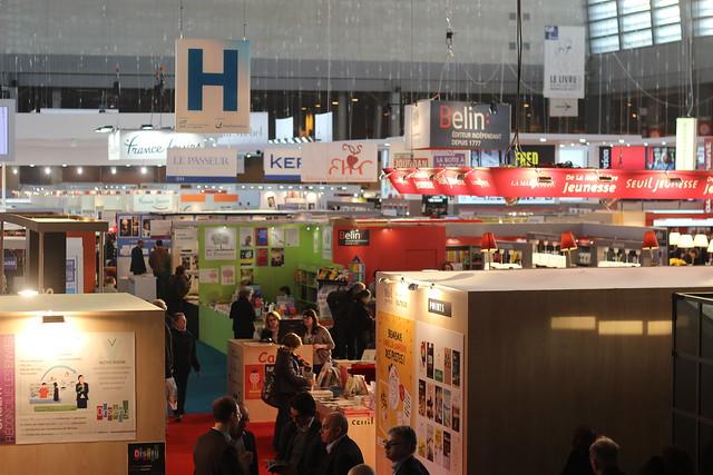 Paris r nover un salon du livre qui restera porte de for Salon zen porte de versailles 2015