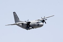 aviation, airplane, propeller driven aircraft, vehicle, turboprop, cargo aircraft, military transport aircraft, alenia c-27j spartan, air force,