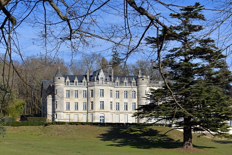 Château de la Mercerie, Magnac-Lavalette-Villars, Charente