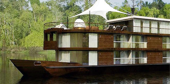 Rainforest Cruises introduces Zafiro - A new luxury riverboat in the Peruvian Amazon